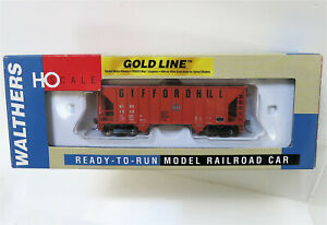 Walthers Gold Line HO GIFFORD HILL Greenville 100 Ton Twin Hopper 932-9417 NIB