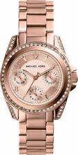 Mini Blair Cronógrafo Michael Kors para mujer Reloj MK5613 Oro Rosa Dial RRP £ 229
