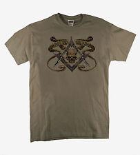 Masonic Symbol Illuminati Freemasons Conspiracy Cult Secret  Putty T-shirt