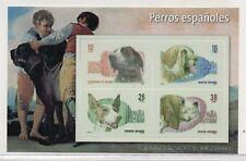 España Hojita Recuerdo Razas de Perros Españoles del año 1983 (DL-435)