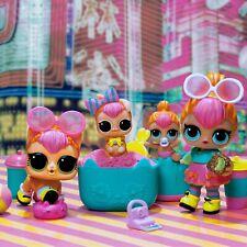 LOL Series 2 - Neon QT, SZE Code + Lil Neon QT + Pets Neon Kitty and Bunny Set.