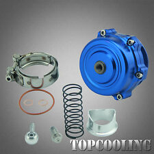 Universal 50MM V-Band Blow Off Valve Turbo Blue BOV Tial Style