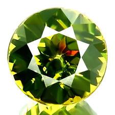 1.18ct WOW HUGE RARE NATURAL GREEN COLOR DEMANTOID GARNET BEST SPARKLING GEM!