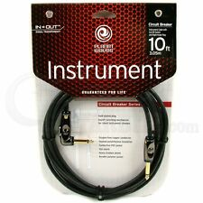 Planet Waves Circuit Breaker Guitar Cable - 10foot (3meters) Right Angle