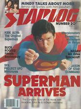 Starlog n°20 March 1979 superman arrives