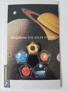 Exploring the Solar System Stamp Sheet; 2000 Scott# 3410; 5-$1.00