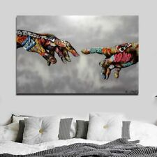 New graffiti Street Art Painting Abstract Art Hand Wall Art Classic Poste