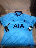 Nike Women's Tottenham Hotspur 2019 Stadium Third Blue Soccer Jersey Size XLarge
