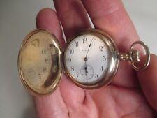 Vintage Elgin Ladies Pocket Watch with Hunter Case