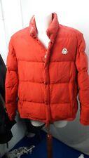 Giubbino PIUMINO Moncler Grenoble Vintage Rosso Taglia 6 PANINARO Anni 80