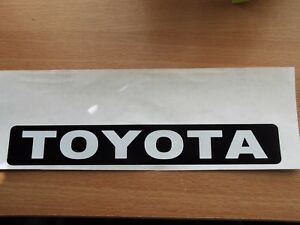 TOYOTA Tailgate sticker
