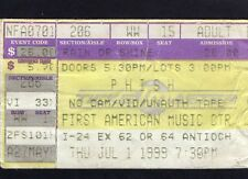 1999 Phish concert ticket stub Starwood Nashville TN The Story Of The Ghost