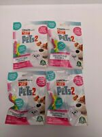 The Secret Life of Pets 2 Collectable Blind Bag Figures Set of Four - Brand New