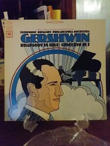 Gershwin/Entremont/Ormandy   Rhapsody in Blue; Concerto in F  LP-  Columbia