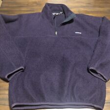 Vintage Patagonia Sherpa Deep Pile Synchilla Pullover Fleece Mens Small