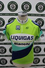 maglia ciclismo bike shirt maillot trikot camiseta LIQUIGAS TG L F795