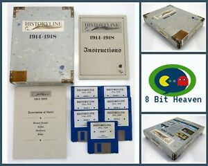 HISTORYLINE 1914-1918 BY BLUE BYTE FOR COMMODORE AMIGA - TESTED & WORKING