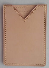Authentic Louis Vuitton Vachetta Leather Card Case Holder New Rare Oscar Promo