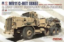 Meng Model SS-013 1/35 M911 C-HET (8×6) & M747 Heavy Equipment Semi-Trail