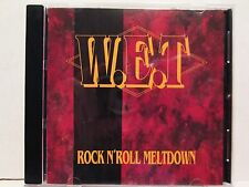 W.E.T - Rock N' Roll Meltdown 1991 HSM Records Rare OOP HTF WET