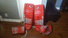 Brian's G-netik 36+1 goalie leg pads only Halak graphics
