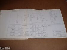 1984 Ford CL9000 wiring diagram schematic SHEET service manual