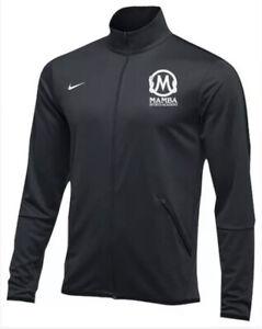 Large Authentic 🐍 Gray w/Black Nike Mamba Sports Academy Epic Jacket Beautiful