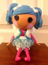 "LALALOOPSY BLUE HAIRED ""MITTENS FLUFF N STUFF"" 12"" DOLL RETIRED"