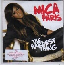 (BB78) Mica Faris, The Hardest Thing - DJ CD
