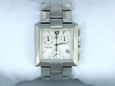 Men's Concord La Scala Wrist Watch Stainless Steel 30mm Square Swiss made