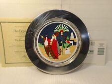 Rwp Wilton The Journey Of The Magi The Departure 1993 Étain Plaque Hd691