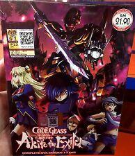 Code Geass(OVA): Akito the Exiled (Vol.1 - 5End) ~ DVD ~ English Subtitle ~