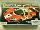 Nitto/BlueTank Vintage 1:28 Scale Motorised Ferrari Dino Race Model Kit New Rare