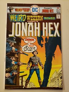 Weird Western Tales #31. DC. Dec 1975. VF- 7.5 or HIGHER! Jonah Hex. White Pages