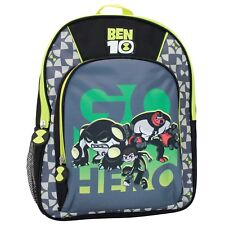 Ben 10 Backpack | Kids Ben 10 Aliens Rucksack | Boys Ben 10 Cannonbolt  Bag