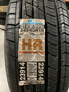 1 New 245 60 18 Cooper CS5 Ultra Touring Tire