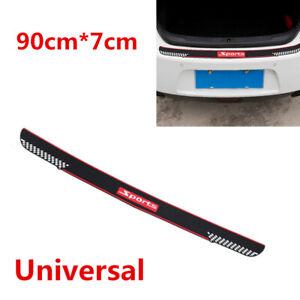 Universal Car SUV Rear Bumper Scratch Guard Protector Non-slip Rubber Pad Cover