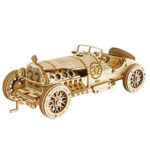 3D Wooden Puzzle -  Grand Prix Car  -  by Hands Craft
