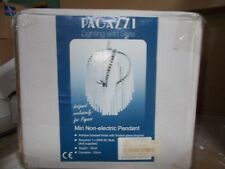 Pagazzi Ceiling Light pendant glass easy fit 60w