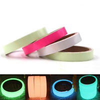 4M Luminous Tape Waterproof Self-adhesive Glow In The Dark Safety Stage Decor JT