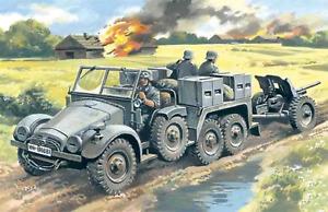 ICM 1:72 Krupp L2H143 Kfz.69 W/ Pak 36, #ICM72461