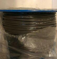 16 AWG Gauge Stranded Hook Up Wire Brown 1000 ft UL1015 600 Volts