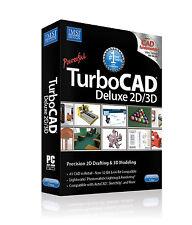 TurboCAD Deluxe 2D/3D 2017 with Bonus Training