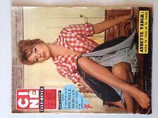 CINE TELE REVUE N°4 1961 ANNETTE VADIM