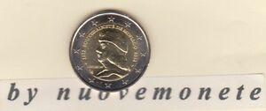 MONACO 2012 2 euro comm. 500° Anniversario  sovranità Luciano 1° Grimandi  UNC