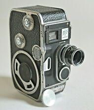 Paillard Bolex B8 Turret Movie Camera, Kern Paillard Switar 1.5 12.5mm Lens EX