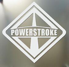Ford International Powerstroke sticker larg power stroke Super Duty Diesel decal