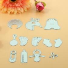 11 Baby Care Metal Cutting Dies Stencil For DIY Scrap book Album Paper Card