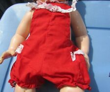Vintage Baby Doll Clothing Sun Suit Romper 1960s Dy-Dee Tiny Tears Betsy