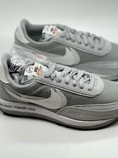 Nike Sacai Fragment Ld Waffle - Wolf Grey - Size 11 - Ds Early Pair